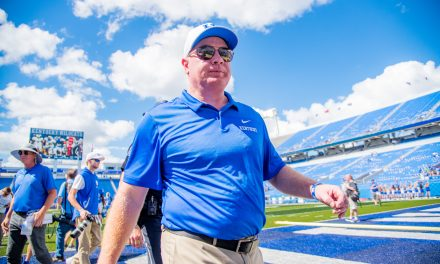 Mark Stoops meets media final time before Mississippi State matchup