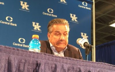 John Calipari post Transylvania