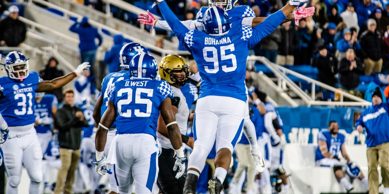'Funky' scenario: Cats tied for 1st in SEC East; defense could be one of UK's all-time greats