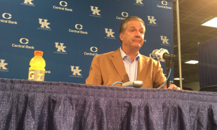 John Calipari post Monmouth