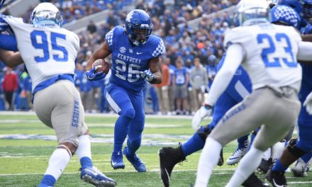 Kentucky players post Middle Tennessee win