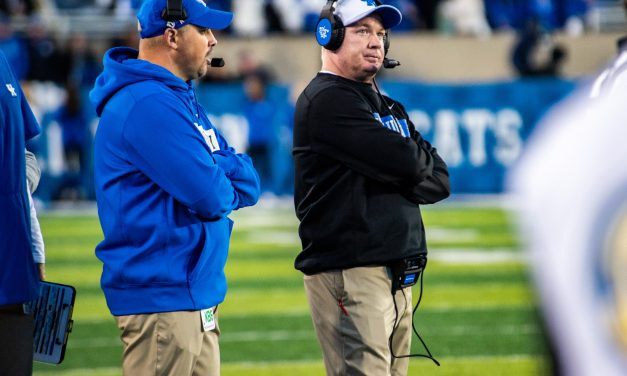 Mark Stoops before Kentucky faces off against Tennessee