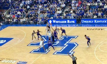 Non-conference win over Kansas had NCAA Tournament feel for Kentucky