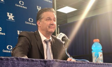Postgame interviews after UK's loss to LSU
