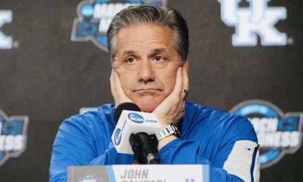 Kentucky basketball podium comments