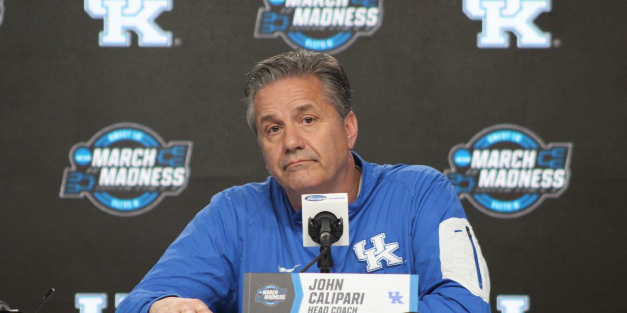 John Calipari pre Houston