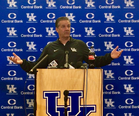 John Calipari post NBA Draft June 22nd 2019