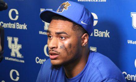 Post Kentucky spring game interviews