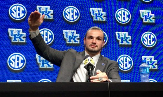 Kash Daniel at SEC Media Days