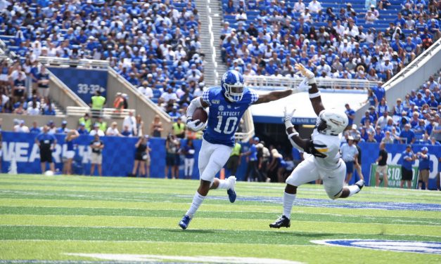 Kentucky Players And Assistant Coaches Post Week One Win Over Toledo