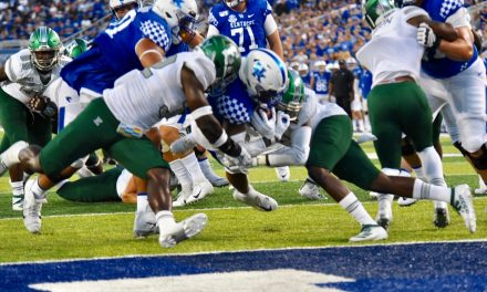 Kentucky Players And Assistant Coaches Post Win Over Eastern Michigan