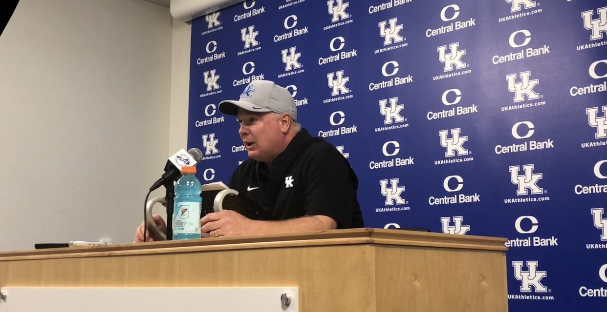 Mark Stoops Post Victory Over Eastern Michigan