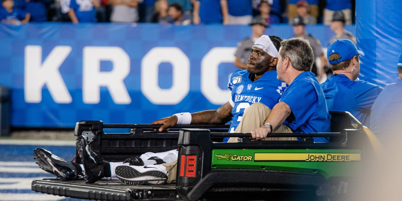 UK confirms: Wilson lost for rest of Wildcat football season