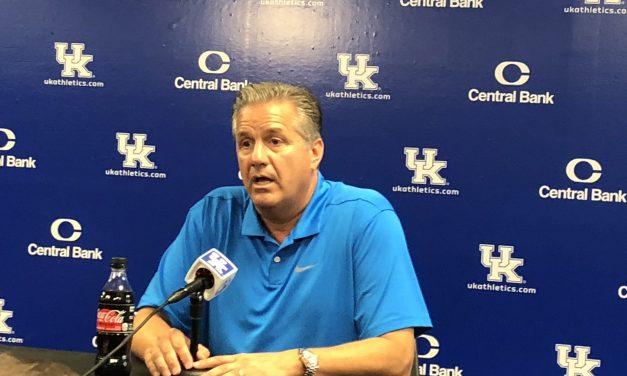 John Calipari Kentucky Men's Basketball Media Day Press Conference