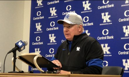 Mark Stoops Post Victory over Arkansas