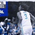 Kentucky vs. Lamar: Recap, MVP & Highlights