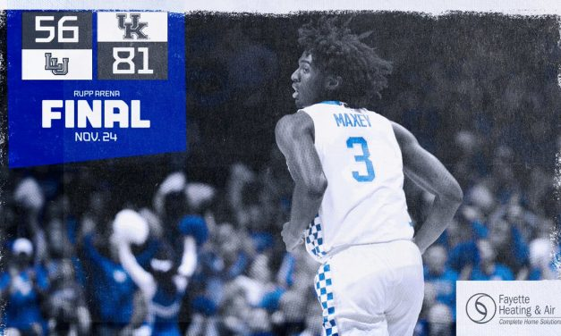 Maxey sparks run in UK's 81-56 romp past Lamar