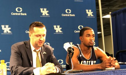 Mount St. Mary's Dan Engelstad & Brandon Leftwich Discuss Loss To No. 9 Kentucky