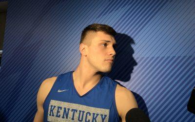 John Calipari, Nate Sestina & Tyrese Maxey Preview Eastern Kentucky