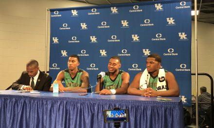 Kentucky State's Jamaal Jackson, Felix Wilson, Grant Goode & Orlando Fikes Recap Loss To Kentucky