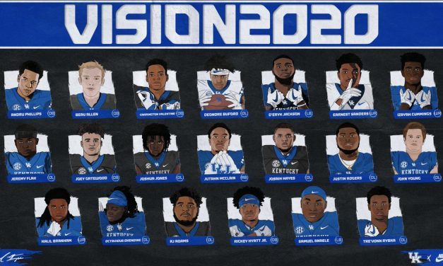 Kentucky signs 19 players during 2020 early signing period