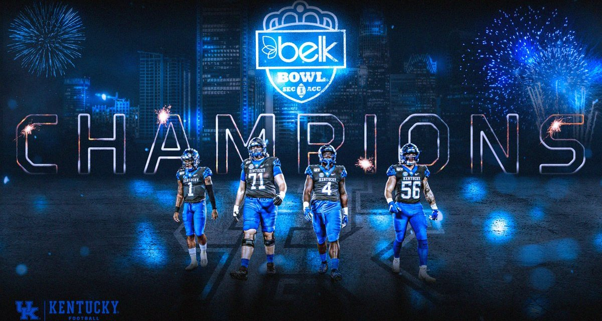 Kentucky stuns Virginia Tech in epic Belk Bowl: Game Story, MVP & Highlights