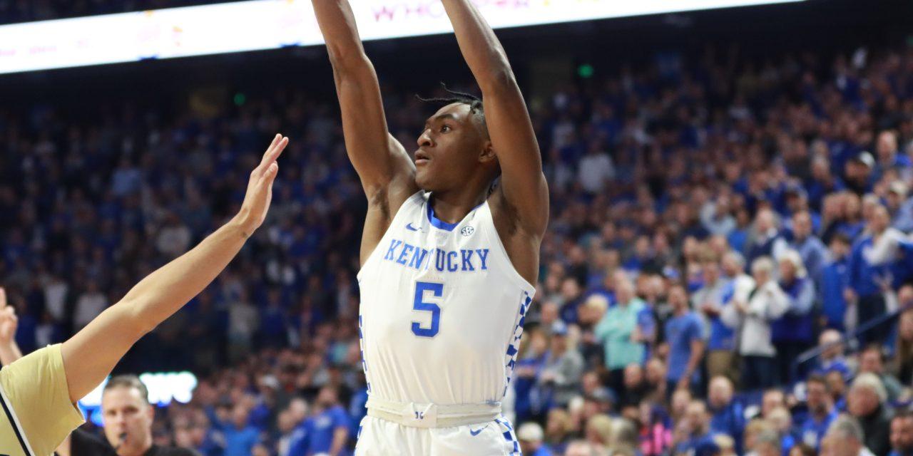 The top 10 moments of the 2019-20 Kentucky Men's Basketball season