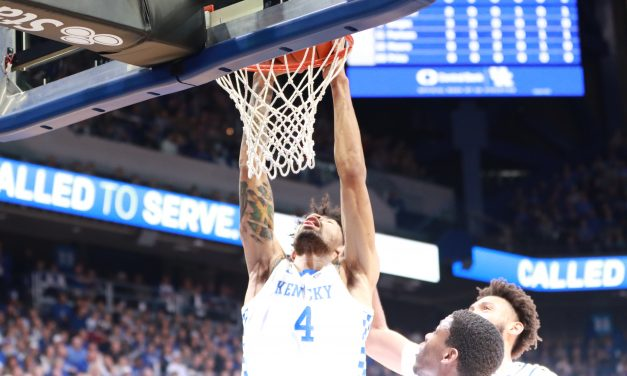 Calipari predicted success for Richards but – really? Like this? – in win over Louisville