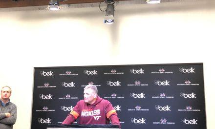 Virginia Tech HC Justin Fuente recaps Belk Bowl loss