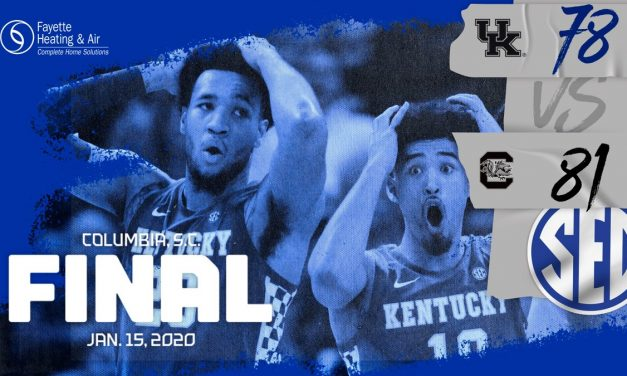 Cats Collapse: Kentucky falls victim to buzzer beater in Columbia