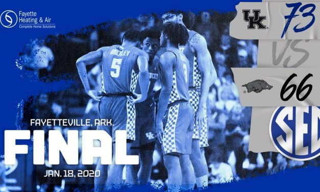No. 10 Kentucky goes on 15-0 run to close out Arkansas in Fayetteville