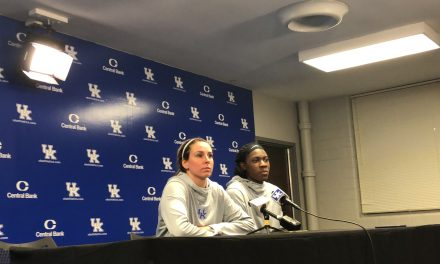 Matthew Mitchell, Blair Green & Rhyne Howard discuss victory over No. 12 Texas A&M