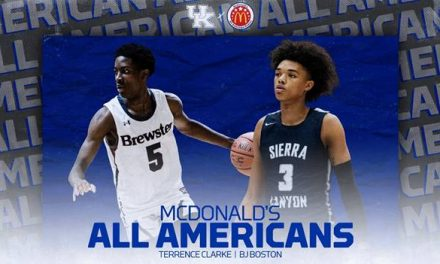 Kentucky signees B.J. Boston and Terrance Clarke named McDonald's All-Americans