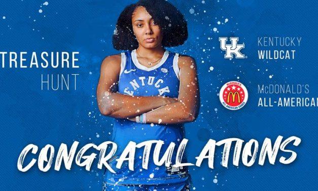 Kentucky Women's basketball signee Treasure Hunt named McDonald's All-American