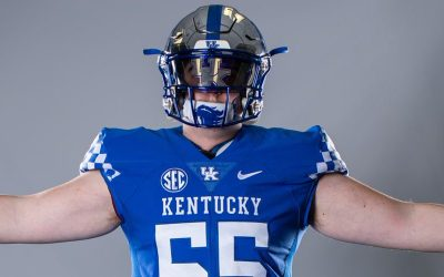 3-star offensive tackle David Wohlabaugh commits to Kentucky