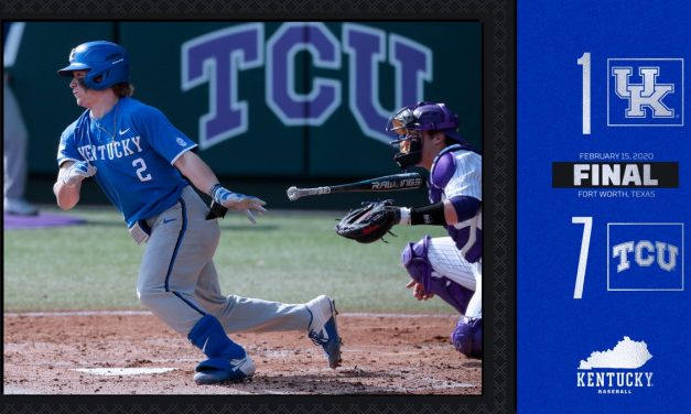 Bats stay quiet, defense falters as Kentucky drops series to TCU