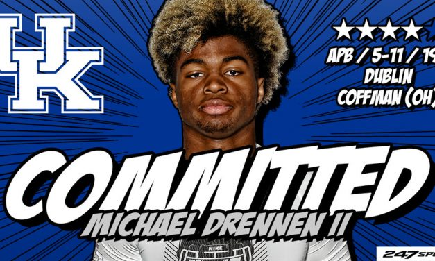 Kentucky football lands four-star running back Michael Drennen II
