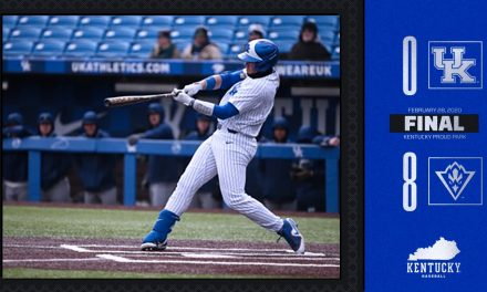 Kentucky Baseball shutout for first time in 127 games, lose to UNCW