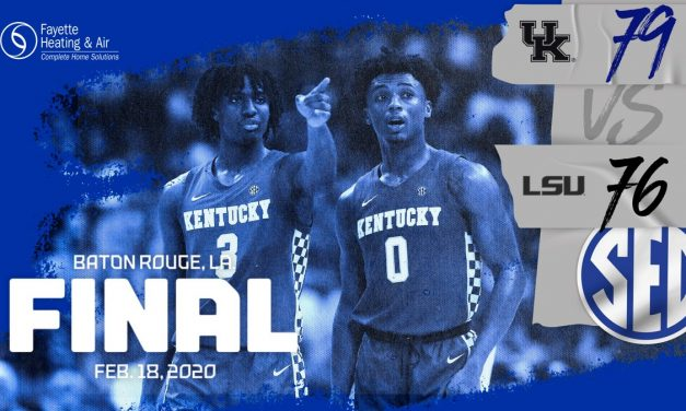 Ashton Hagans suffers thigh contusion in Kentucky victory over LSU