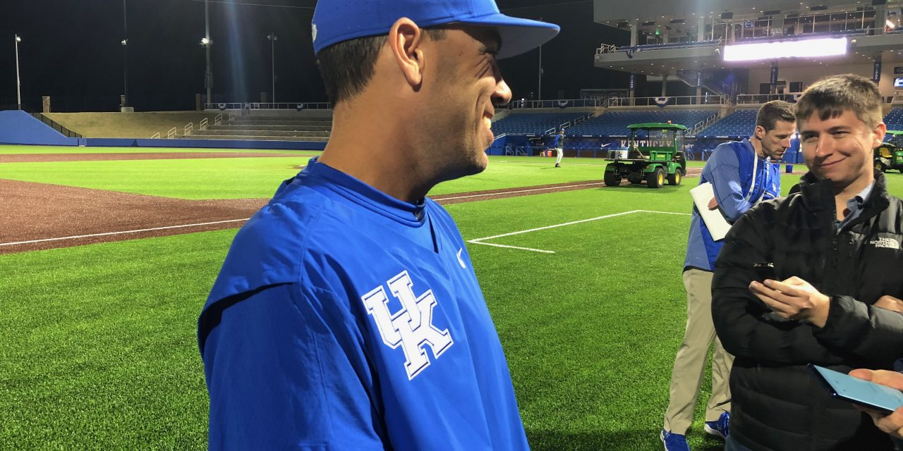 Kentucky Baseball head coach Nick Mingione joins the Big Blue Insider