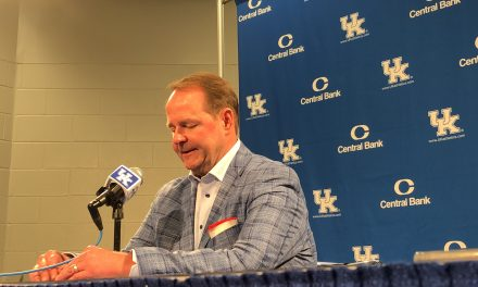 Ole Miss head coach Kermit Davis discusses loss to Kentucky