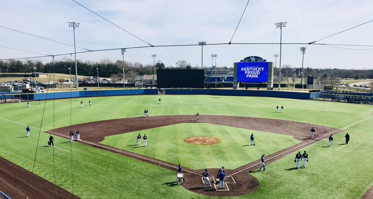 Kentucky Baseball adjusts weekend schedule