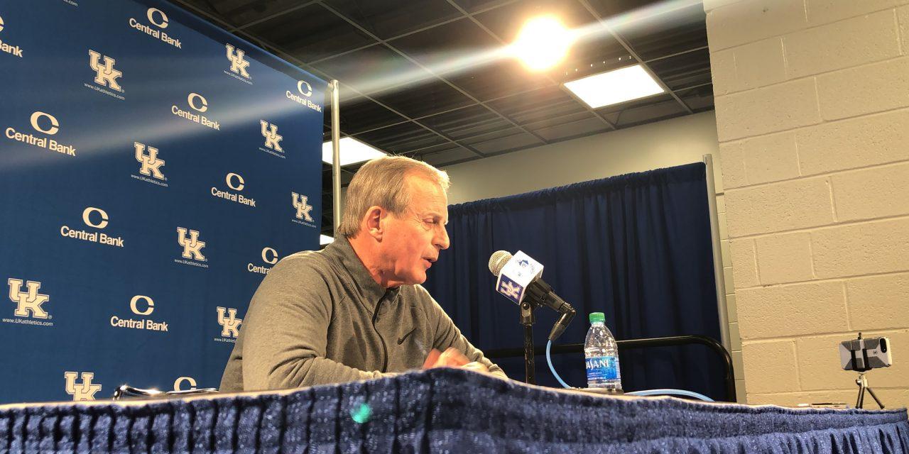 Tennessee head coach Rick Barnes recaps upset victory over Kentucky
