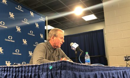 Tennessee head coach Rick Barnes recaps upset victory over Kentucky