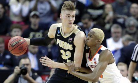 Purdue graduate transfer Matt Haarms commits to BYU over Kentucky