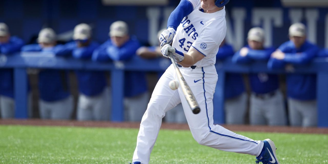 Four Kentucky Baseball players enter transfer portal