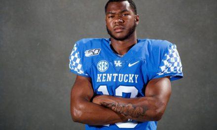 Kentucky quarterback Amani Gilmore enters transfer portal
