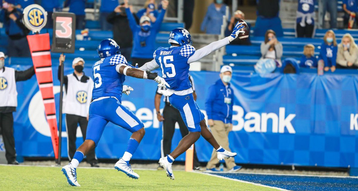 Jordan Wright wins SEC Defensive Player of the Week, Max Duffy takes home Special Teams Player of Week