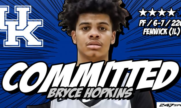 4-star forward Bryce Hopkins commits to Kentucky