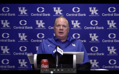 Mark Stoops looks back at Missouri loss, previews No. 5 Georgia in Monday Press Conference